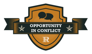 Roy Group: Opportunity in Conflict badge
