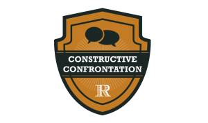 Roy Group: Constructive Confrontation badge